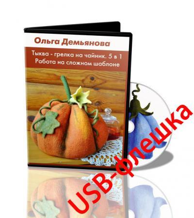 "О.Демьянова ""Тыква-грелка на чайник 5 в 1"" на USB-флешке"